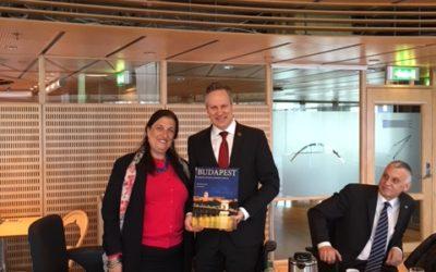 Hungarian Ambassador visited Fredrikstad and Halden