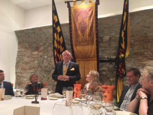 HNCC Chairman, Mr. Adam Laska at the farewell dinner