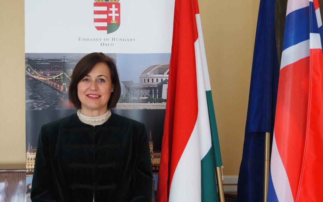 Welcome words of Ambassador of Hungary Eszter Sándorfi